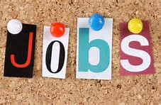 Picture of letters spelling 'jobs' to promote current vacancies