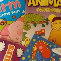 Image of childrens colouring books