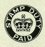 Stamp Duty Paid badge